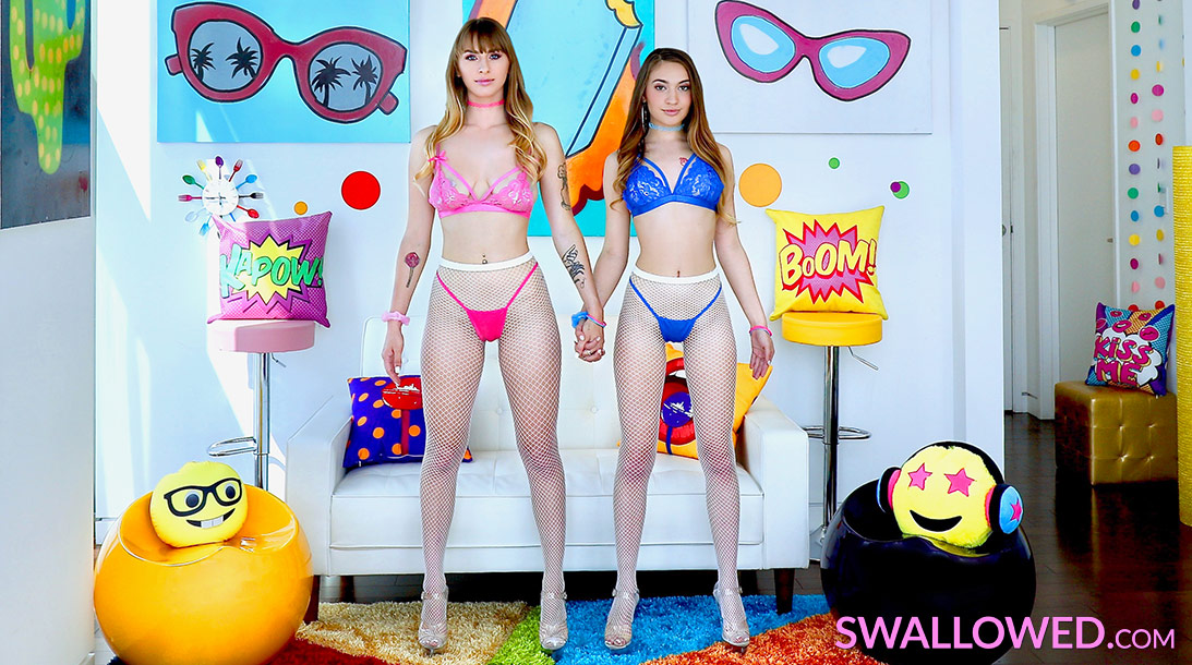 Download Swallowed.com - Angel & Sera Certified Dick Suckers